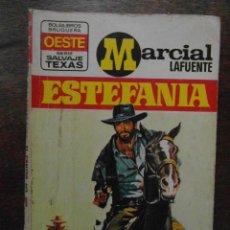 Cómics: EL CANTOR DEL RIO MARCIAL LAFUENTE ESTEFANIA. SERIE SALVAJE TEXAS. OESTE. BOLSILIBROS BRUGUERA. 1974. Lote 110838659