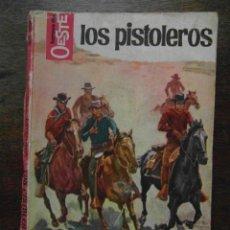 Cómics: LOS PISTOLEROS. MARCIAL LAFUENTE ESTEFANIA. HEROES DEL OESTE. BRUGUERA. 1965. Lote 110838863