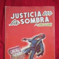 Cómics: JUSTICIA EN LA SOMBRA POR SEAMARK COLECCIÓN AVENTURAS POLICIACAS Nº XXXVII MARISAL 1941. Lote 110887263