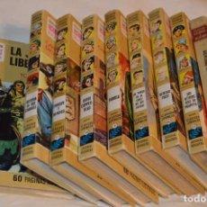 Cómics: LOTAZO COLECCIÓN HISTORIAS SELECCIÓN - SERIE CLÁSICOS JUVENILES - BRUGUERA - AÑOS 60/70. Lote 274003758