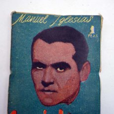 Cómics: BIBLIOTECA PÍLDORA 17. FEDERICO GARCÍA LORCA (MANUEL IGLESIAS) GRÁFICAS ESPEJO, 1950. Lote 128228874