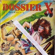 Cómics: DOSSIER X Nº 11 - ESAS SUECAS - COMIC EROTICO ADULTOS - . Lote 112138755