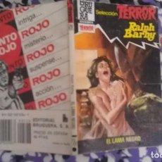 Cómics: EL LAMA NEGRO - RALPH BARBY - SELECCION TERROR 528. Lote 112143707
