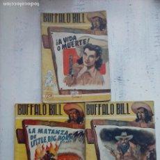 Cómics: BUFFALO BILL NºS - 4,6,7 EDITORIAL GEMAS - MADRID - 1945. Lote 112274795