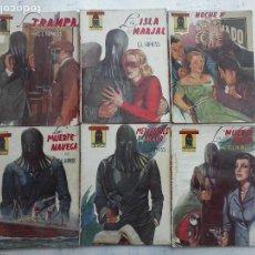 Cómics: EL ENCAPUCHADO NºS 4,7,9,11,12,18 G.L. HIPKISS - EDI. CLIPER 1947. Lote 112314123