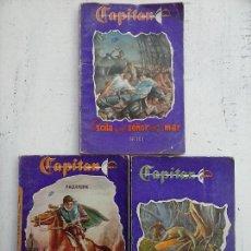 Cómics: CAPITÁN NºS 1,4 Y 6 EDICIONES TUBAL 1955. Lote 112423687