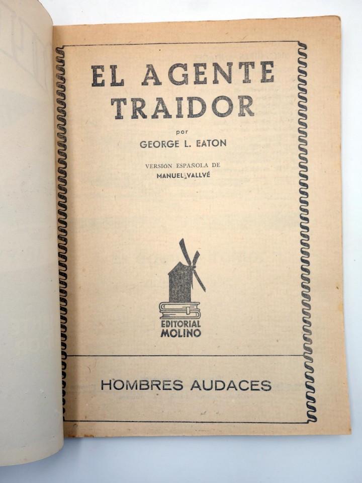 Cómics: HOMBRES AUDACES 106. BILL BARNES 27 EL AGENTE TRAIDOR (George L. Eaton) Molino. 1945 - Foto 3 - 113178502
