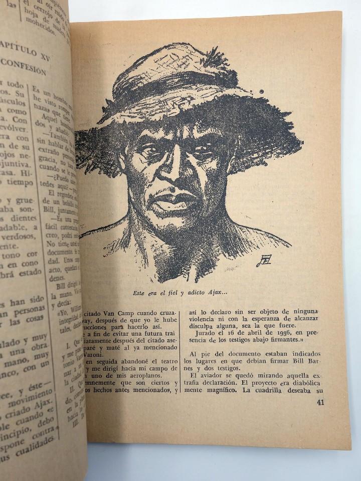 Cómics: HOMBRES AUDACES 106. BILL BARNES 27 EL AGENTE TRAIDOR (George L. Eaton) Molino. 1945 - Foto 4 - 113178502