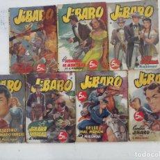 Cómics: LOTE OESTE - JIBARO POR JOSÉ MALLORQUÍ - NºS - 1,2,3,5,7,9,11. Lote 113292867