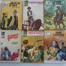 Cómics: LOTOE OESTE 6 NOVELAS BIEN CONSERVADAS - ALF REGALDIE, A.ROLCEST,,MARK HALLORAN, LUCKY MARTI. Lote 113438079