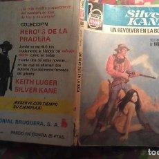 Cómics: UN REVOLVER EN LA BOCA - SILVER KANE - BRAVO OESTE 1018. Lote 113462115