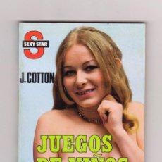 Cómics: COLECCIÓN SEXY STAR. AUTOR: J. COTTON. NÚMERO 113: JUEGOS DE NIÑOS. PERFECTO ESTADO. Lote 113513347