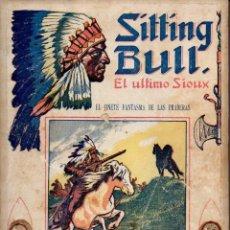 Cómics: SITTING BULL EL ÚLTIMO SIOUX - DOCE NÚMEROS ENCUADERNADOS.. Lote 114016667