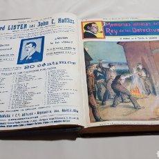Cómics: SHERLOC HOLMES MEMORIAS INTIMAS DEL REY DE LOS DETECTIVES . TOMO 4 DEL 46 AL 60 F. GRANADA EDITORES. Lote 115100318