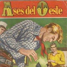 Cómics: NOVELA DEL OESTE SERIE ASES DEL OESTE Nº 26 POR SILVER KANE ¡ BRUGUERA 1959 ¡. Lote 115123211