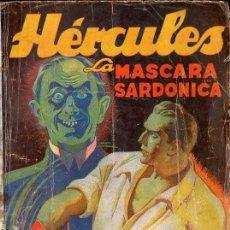 Cómics: ADOLFO MARTÍ : HÉRCULES - LA MÁSCARA SARDÓNICA (HOMBRES AUDACES MOLINO, 1943). Lote 115284639