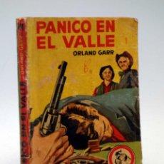 Comics : COLECCIÓN VAQUERO 144. PÁNICO EN EL VALLE (ORLAND GARR) BRUGUERA BOLSILIBROS, 1960. Lote 115889828