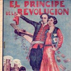 Cómics: EL PRÍNCIPE DE LA REVOLUCIÓN CUADERNO Nº 1 (EDITORIAL VALENCIANA, C. 1930). Lote 116494003
