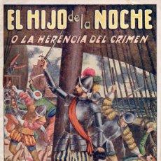Cómics: CASTELLANOS Y VELASCO : EL HIJO DE LA NOCHE O LA HERENCIA DEL CRIMEN CUADERNO Nº 1 (CASTRO, C. 1930). Lote 116494031
