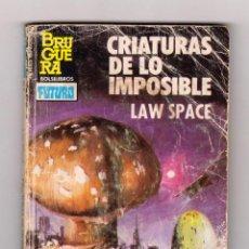 Cómics: HÉROES DEL ESPACIO. AUTOR: LAW SPACE. NÚMERO 193: CRIATURAS DE LO IMPOSIBLE. Lote 157851177