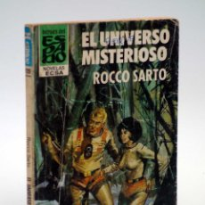 Cómics: HÉROES DEL ESPACIO 120. EL UNIVERSO MISTERIOSO (ROCCO SARTO) BOLSILIBROS ECSA, 1982. Lote 143551885