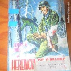Cómics: HAZAÑAS BELICAS 433, HERENCIA DE SANGRE- LOUIS G. MILK - ROLLAN NOVELA PULP. Lote 118358739
