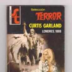 Cómics: SELECCIÓN TERROR. AUTOR: CURTIS GARLAND. NÚMERO 260: LONDRES, 1888. MUY BUEN ESTADO. Lote 120097787