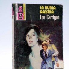 Cómics: SS SERVICIO SECRETO 1491. LA RUBIA ASESINA (LOU CARRIGAN) BOLSILIBROS BRUGUERA, 1979. Lote 147669646