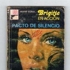Cómics: ARCHIVO SECRETO. BRIGITTE EN ACCIÓN. AUTOR: LOU CARRIGAN. Nº 173: PACTO DE SILENCIO. Lote 121909051