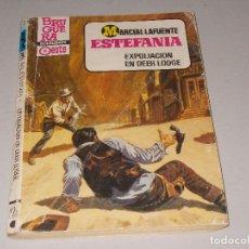 Cómics: COLECCIÓN CALIBRE 44 Nº 702 EXPOLIACIÓN EN DEER LODGE. M. L. ESTEFANIA. BRUGUERA 1ª ED. FEBRERO 1984. Lote 121977459