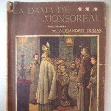 Cómics: NOVELA POPULAR:LA DAMA DE MONSOREAU.ALEJANDRO DUMAS LA NOVELA ILUSTRADA. Lote 121984095
