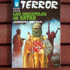 Cómics: BOLSILIBROS EASA TERROR / EDITORIAL ANDINA / Nº 115 LOS DISCIPULOS DE SATAN / JOSEPH BERNA. Lote 122000271