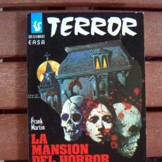 Cómics: BOLSILIBROS EASA TERROR / EDITORIAL ANDINA / Nº 105 LA MANSION DEL HORROR / FRANK MARTIN. Lote 122000443