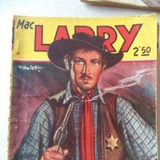 Cómics: NOVELA POPULAR.MAC LARRY EL SHERIFF DE AGUJERO DEL INFIERNO. Lote 122013903