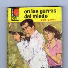 Cómics: PUNTO ROJO. AUTOR: LOUIS G. MILK. NÚMERO 135: EN LAS GARRAS DEL MIEDO. BUEN ESTADO. Lote 122533807