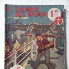 Cómics: LA NOVELA AVENTURA - BIBLIOTECA SEXTON BLAKE - 1938 HYMSA - EL CRÍMEN DEL PASEO. Lote 122924735