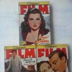 Cómics: CLIPER FILM NºS - 2,3,5 - EDICIONES CLIPER. Lote 122926475