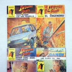 Comics : GRANDES AVENTURAS 39 40 41 Y 42. INDIANA JAMES. LOTE DE 4 (INDIANA JAMES) ASTRI, 1987. OFRT. Lote 182778250