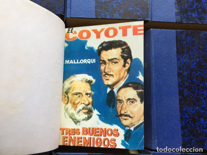 Cómics: EL COYOTE, EDICIONES CID, 134 Numeros encuadernados - Foto 3 - 124622703