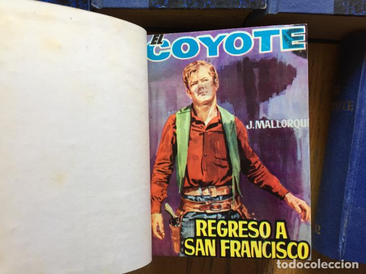 Cómics: EL COYOTE, EDICIONES CID, 134 Numeros encuadernados - Foto 5 - 124622703