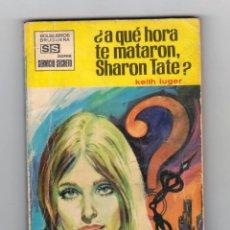 Cómics: SERVICIO SECRETO. AUTOR: KEITH LUGER. NÚMERO 1018: ¿A QUÉ HORA TE MATARON SHARON TATE?. Lote 126046911