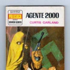 Cómics: SERVICIO SECRETO. AUTOR: CURTIS GARLAND. NÚMERO 1266: AGENTE 2000. Lote 126189255