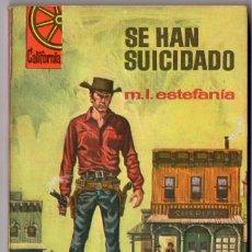 Comics: CALIFORNIA Nº 573 - SE HAN SUICIDADO - M.L. ESTEFANÍA - BRUGUERA. Lote 126579427