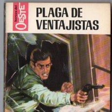 Comics: HEROES DEL OESTE Nº 477 - PLAGA DE VENTAJISTAS - M.L. ESTEFANÍA - BRUGUERA. Lote 126582955