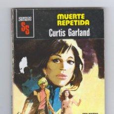 Cómics: SERVICIO SECRETO. AUTOR: CURTIS GARLAND. NÚMERO 1546: MUERTE REPETIDA. Lote 127165663