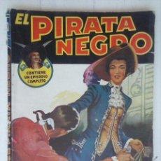 Cómics: EL PIRATA NEGRO Nº 39 - POR ARNALDO VISCONTI - 1946 BRUGUERA . Lote 127875011