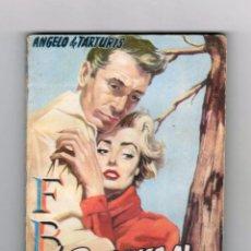 Cómics: COLECCIÓN F.B.I. AUTOR: ANGELO DE TARTURIS. NÚMERO 342: DESCENSO AL ABISMO. MUY BUEN ESTADO. Lote 128324031