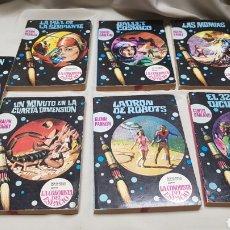 Cómics: LOTE DE 7 BOLSILIBROS DE BRUGUERA, LA CONQUISTA DEL ESPACIO N°16,21,25,28,29,41,52. Lote 128576190