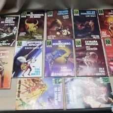 Cómics: LOTE DE 12 BOLSILIBROS, DE LA COLECCION HEROES DEL ESPACIO, NOVELAS ECSA. Lote 128601066