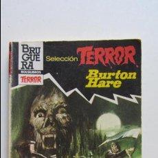 Cómics: SELECCION TERROR BRUGUERA Nº 522 - EL TEMPLO DE SATAN - BURTON HARE BRUGUERA CS136. Lote 128629055